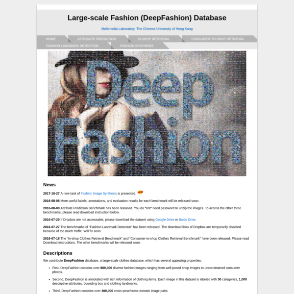 Large-scale Fashion Recognition and Retrieval Dataset.>
