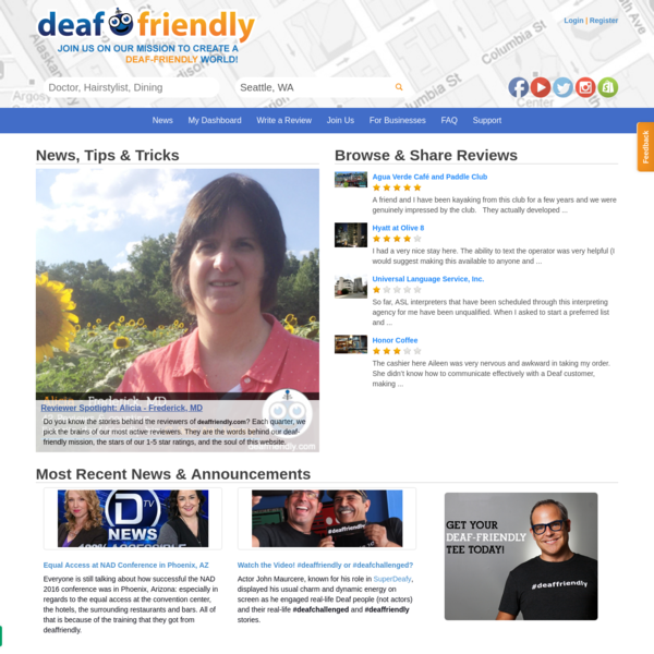 deaffriendly | You have choices, make the right one!