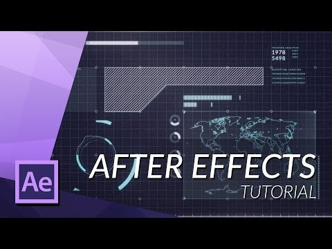 HOW TO MAKE AN AWESOME FUTURISTIC HUD IN AFTER EFFECTS