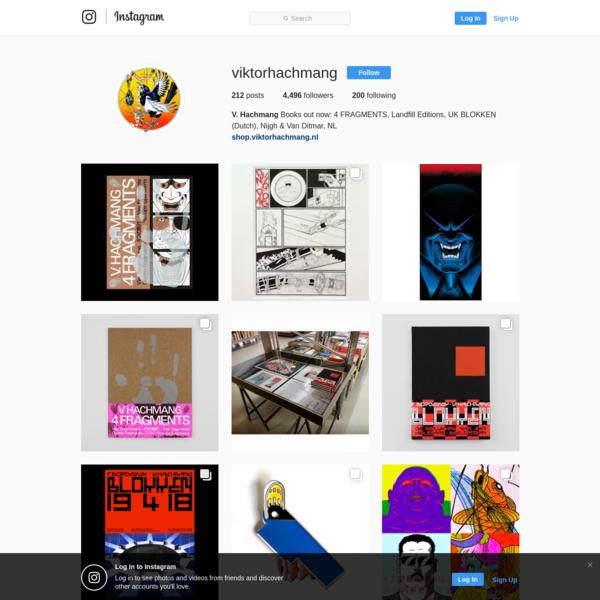 V. Hachmang (@viktorhachmang) * Instagram photos and videos
