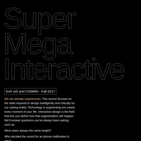 Super Mega Interactive