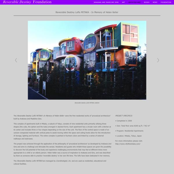 Reversible Destiny Lofts - Mitaka - Reversible Destiny Foundation