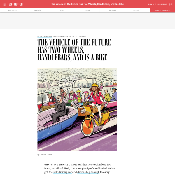 What's the shiniest, most exciting new technology for transportation? Well, there are plenty of candidates! We've got the self-driving car and drones big enough to carry people. Elon Musk is getting ready to bore hyperloop tunnels. When it comes to moving humans around, the future looks to be merging with sci-fi.