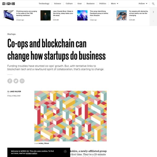 Co-ops and blockchain can change how startups do business