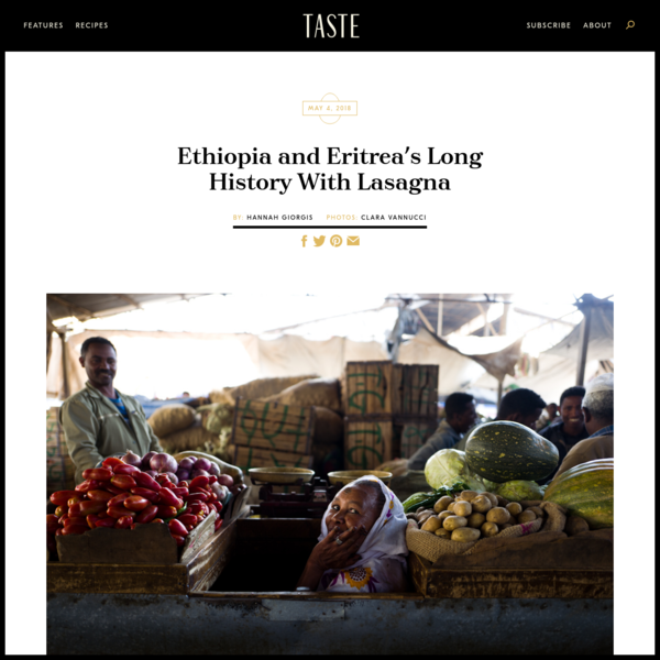 Ethiopia and Eritrea's Long History With Lasagna