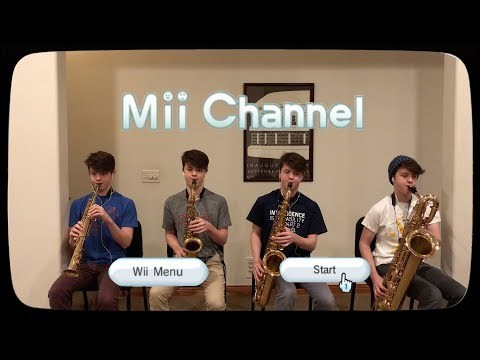 My arrangement of the Mii Channel Music for a saxophone quartet. Uses one soprano, one alto, one tenor, and one bari. Video was compiled in Premiere Pro and audio was compiled in Audition. If you like it, make sure to hit that like button and share with friends, family, and strangers alike!