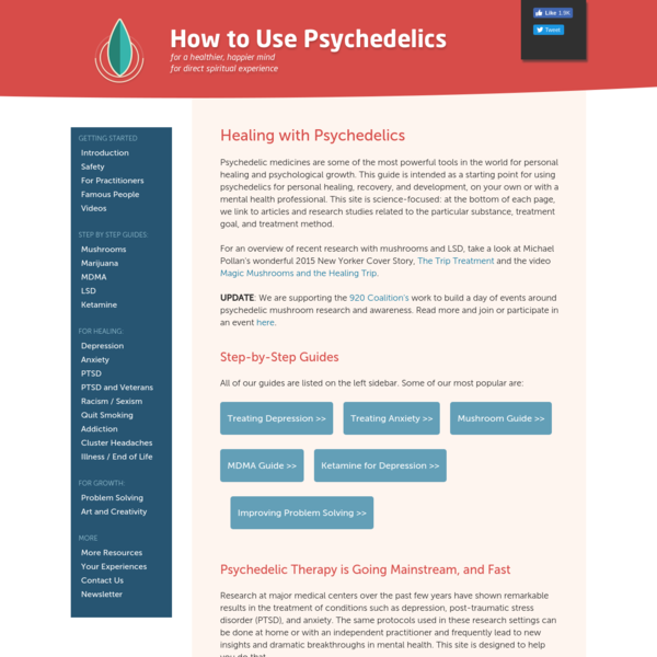 How to Use Psychedelics for a Healthy Mind and Direct Spiritual Experience