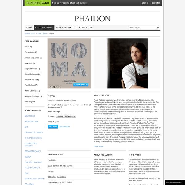 Noma | Food & Cookery | Phaidon Store
