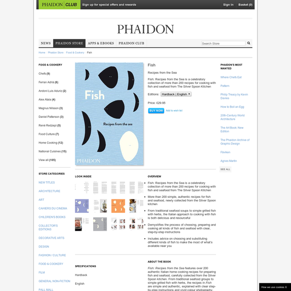 Fish | Food & Cookery | Phaidon Store