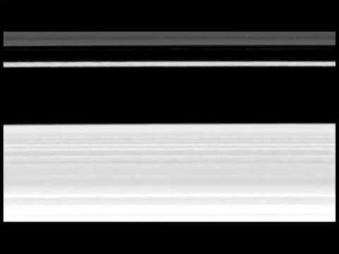 Scientists believe they finally understand why one of the most dynamic regions in Saturn's rings has such an irregular and varying shape, thanks to images captured by NASA's Cassini spacecraft. The rings are behaving like a mini version of our own Milky Way Galaxy. (Contains movies of the B ring.)