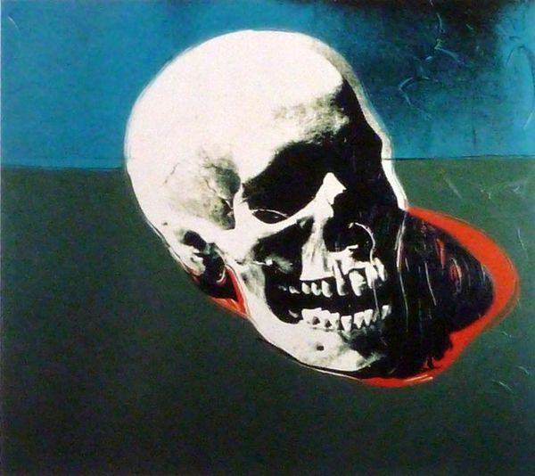 andy warhol skull 1976