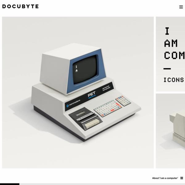 I am a computer - docubyte