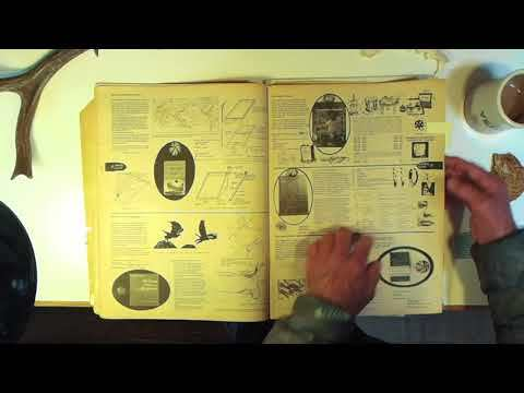 Lloyd Kahn going over the 1968 Fall copy of the Whole Earth Catalog in the Shelter Publications office. www.shelterpub.com www.theshelterblog.com