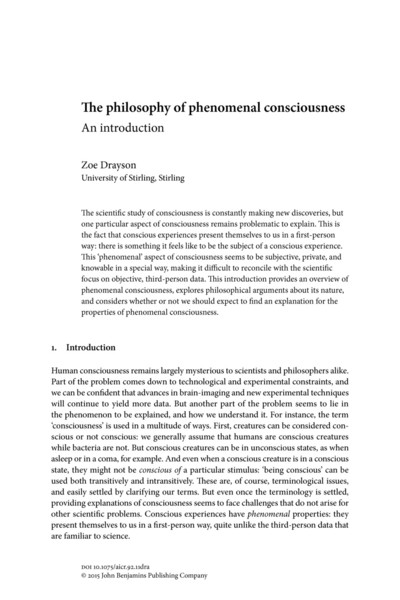 23.3-drayson-2015-_the-philosophy-of-phenomenal-consciousness_.pdf