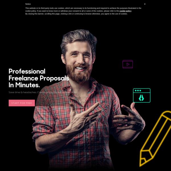 Prospero | Professional Proposals For Creative Freelancers