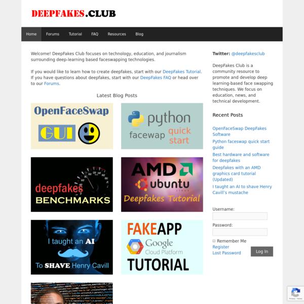 Home - DeepFakes Club