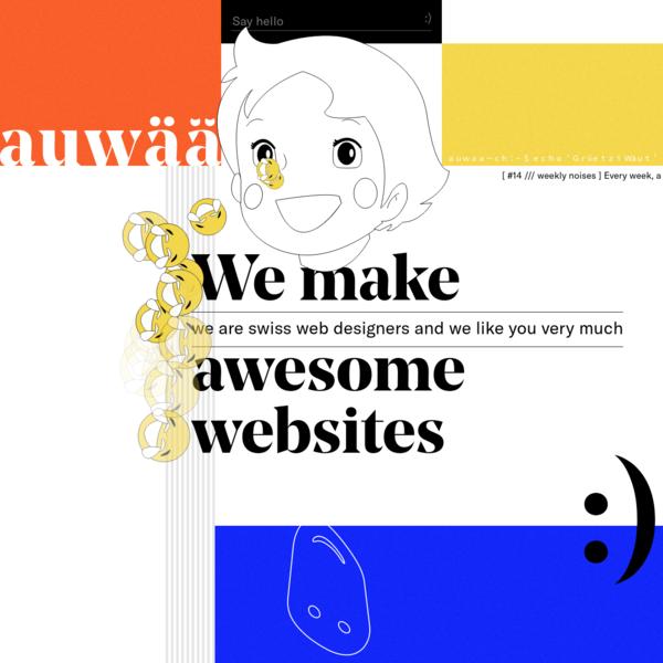 auwää studio - we make awesome websites