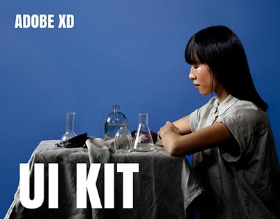Fashion Editorial UI Kit for Adobe XD