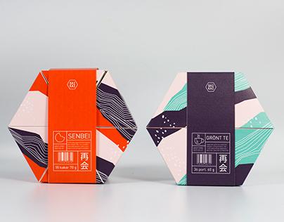 Saikai - Japanese fika packaging project