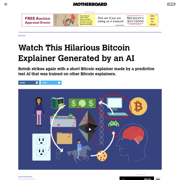 Watch This Hilarious Bitcoin Explainer Generated by an AI