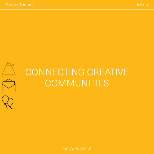 Studio Thomas - visual communication for physical and digital worlds
