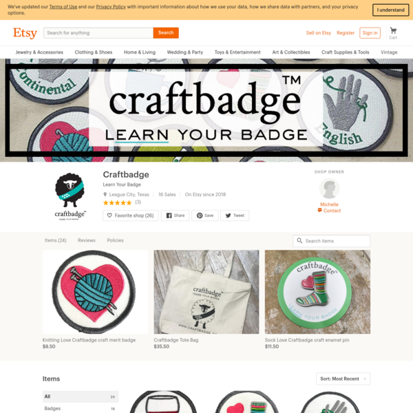 Learn Your Badge by Craftbadge