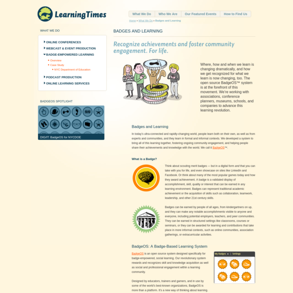 Badges and Learning