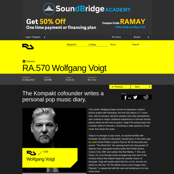 RA.570 Wolfgang Voigt