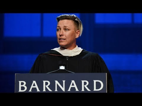 Abby Wambach, the soccer champion and activist for pay equity and LGBTQ rights, delivered the keynote address to the Class of 2018 at Barnard's 126th Commencement on Wednesday, May 16, 2018 at Radio City Music Hall. View a full transcript of Wambach's full remarks: https://barnard.edu/commencement/archives/2018/abby-wambach-remarks