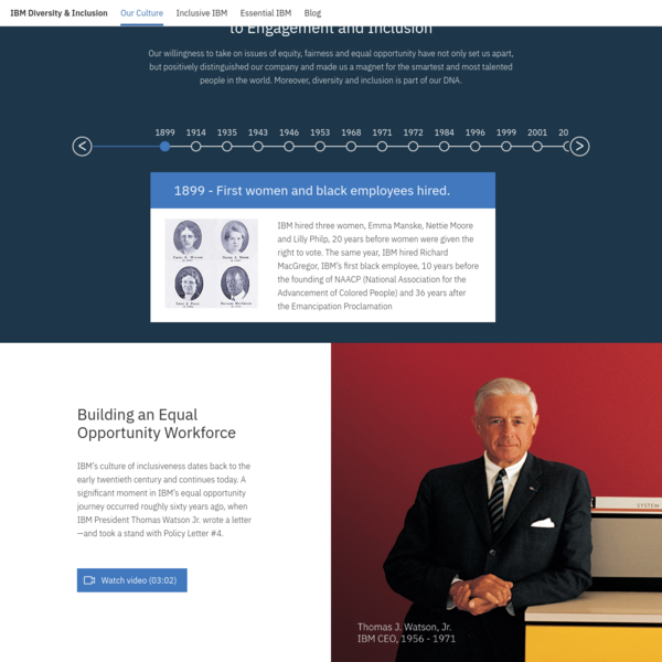Diversity & Inclusion - Our Culture   IBM