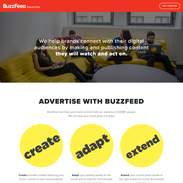 Advertise With BuzzFeed