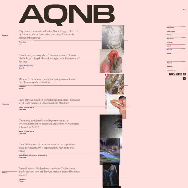 aqnb... a transdisciplinary guide to creative hubs contact us: hello@aqnb.com
