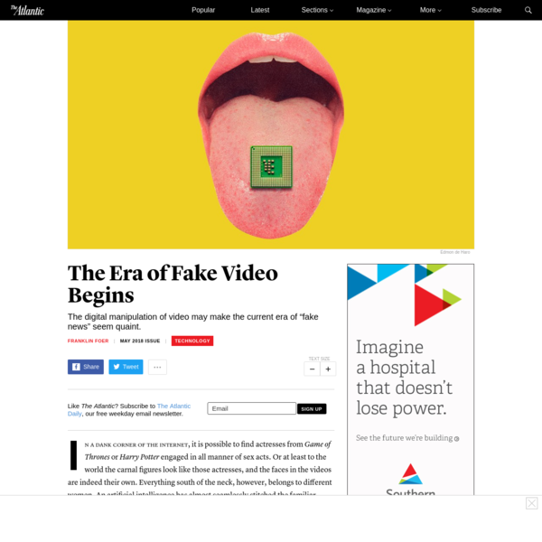 The Era of Fake Video Begins