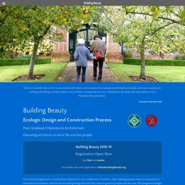 Building Beauty