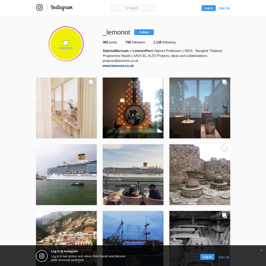 706 Followers, 1,136 Following, 385 Posts - See Instagram photos and videos from SabrinaMorreale + LorenzoPerri (@_lemonot)