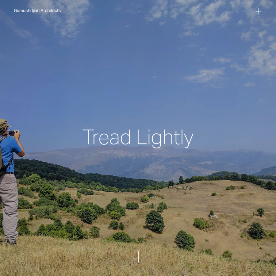 Tread Lightly is a nationwide cultural project laying the foundations of a Linear Festival through the mountains of Armenia. It's ten-year mission is to bring the benefits of sustainable tourism to isolated local communities and fuse their traditions of hospitality and deep knowledge of place with the creativity and energy of the young.