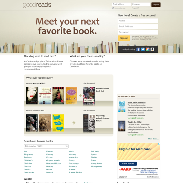 Discover and share books you love on Goodreads, the world's largest site for readers and book recommendations!