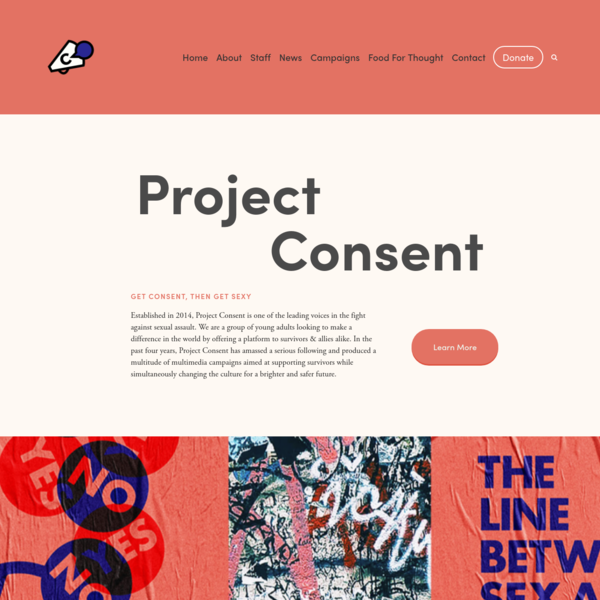 Project Consent | Home