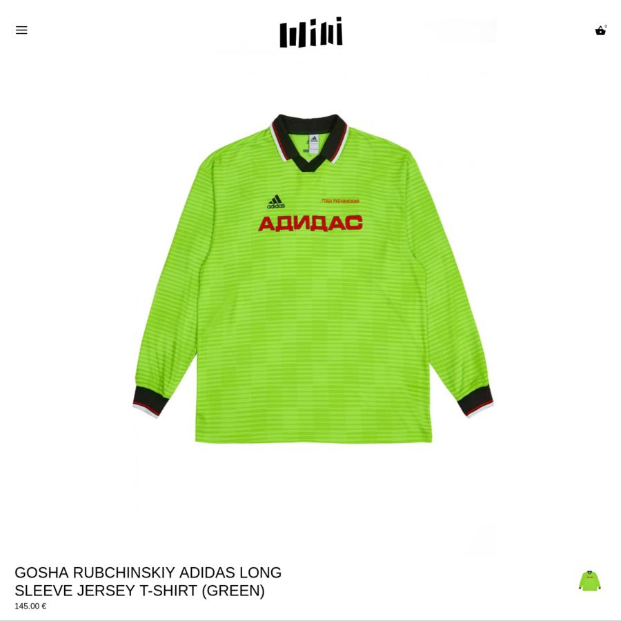 gosha rubchinskiy adidas long sleeve jersey 51bb8b5c0182
