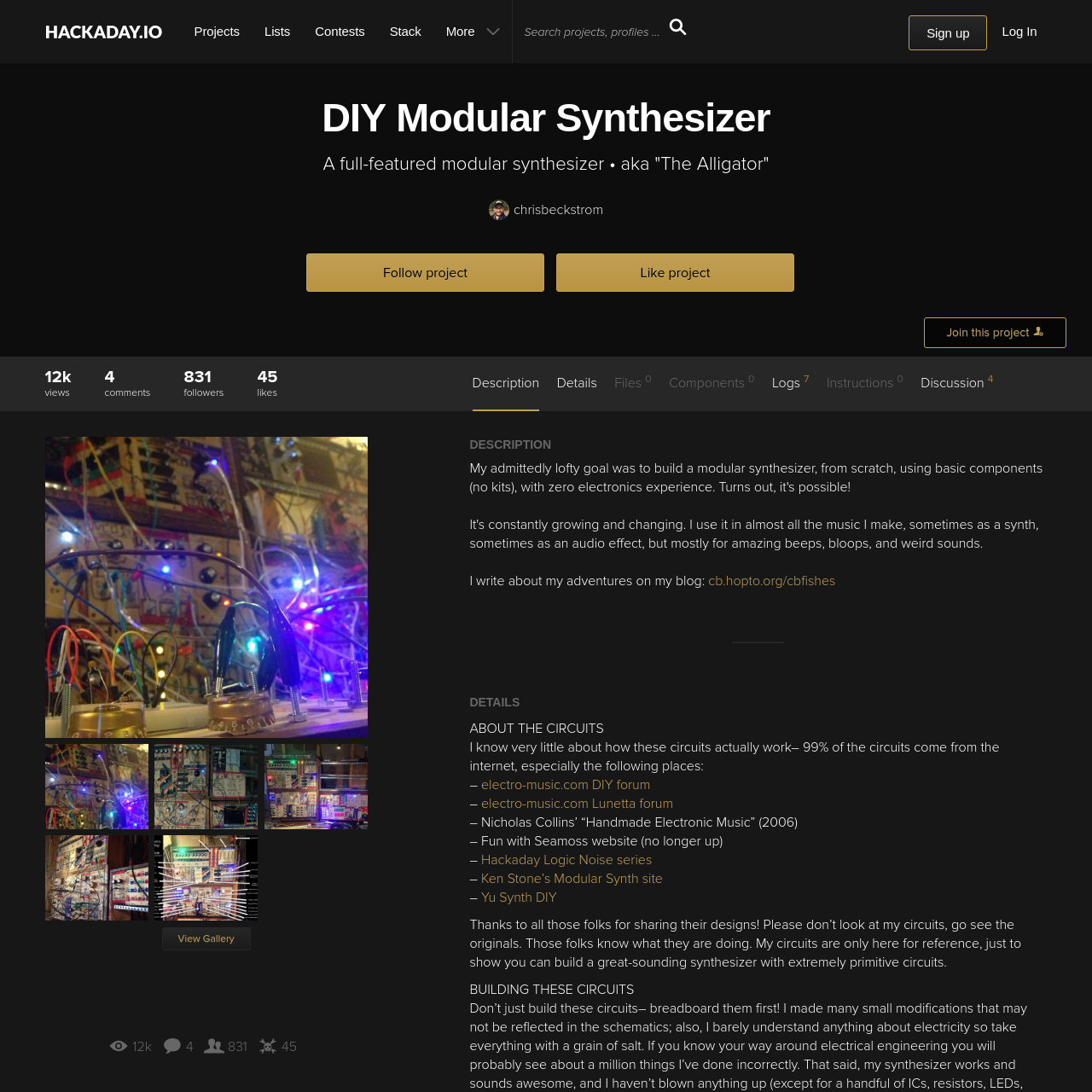 Are na / Modular Synth