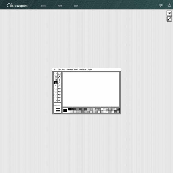 MacPaint Simulator