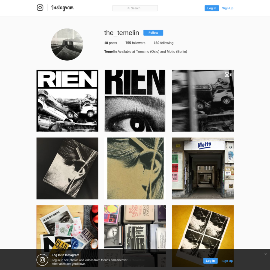 755 Followers, 160 Following, 18 Posts - See Instagram photos and videos from Temelín (@the_temelin)