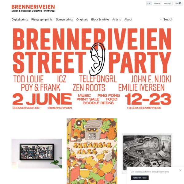 Welcome to Brenneriveien