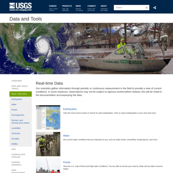 The USGS operates the Landsat satellites and provides the Nation's portal to the largest archive of remotely sensed land data in the world, supplying access to current and historical images. These images serve many purposes from assessing the impact of natural disasters to monitoring global agricultural production.