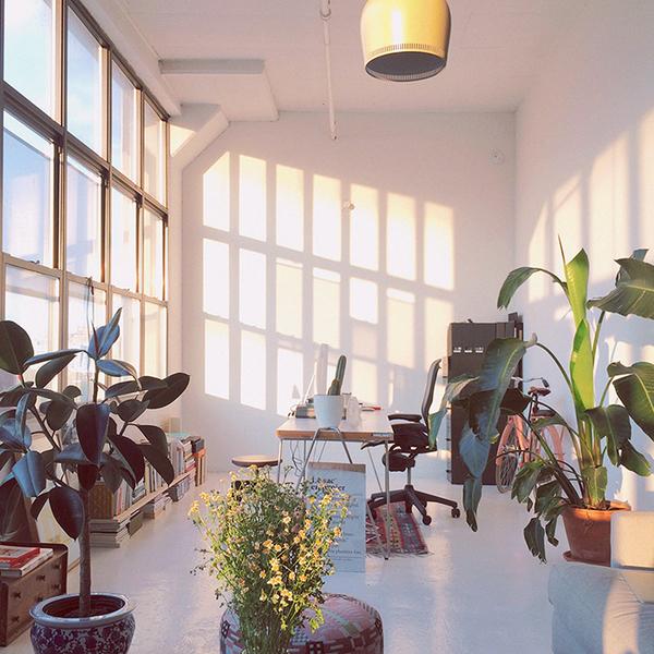 Workspace of Lotta Nieminen