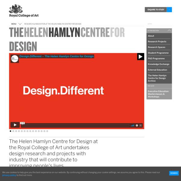 The Helen Hamlyn Centre for Design