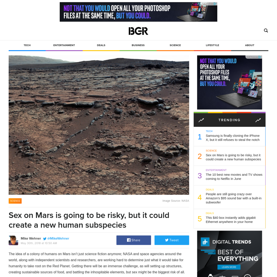 The idea of a colony of humans on Mars isn't just science fiction anymore; NASA and space agencies around the world, along with independent scientists and researchers, are working hard to determine just what it would take for humanity to take root on the Red Planet.