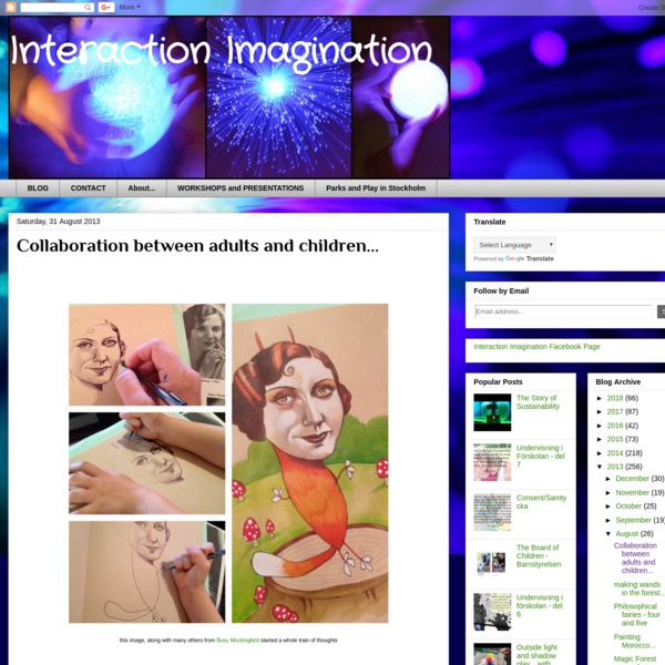 Interaction Imagination: Collaboration between adults and children...