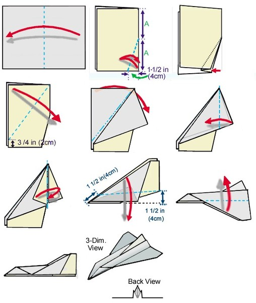 Are Paper Airplane Templates