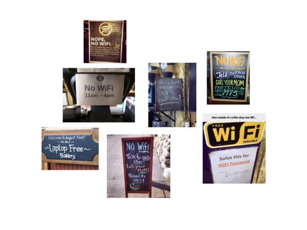 Coffee Shop Wifi Rules